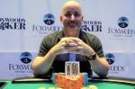 David Larson - Foxwoods Monster Stack Winner