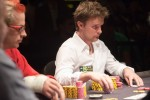 Andrew Pantling continues to look cool and calm during the 6-handed No Limit Hold'em championship.
