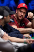 Michael Mizrachi and Daniel Alaei at final ESPN table.