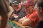 Lee Watkinson has a good laugh on day 1 of Event 20.