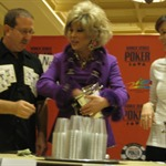 Norman Chad breaks out his secret weapon against Annie Duke in the lemonade competition, Joan Rivers . . . or at least a look-a-like!