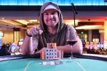 Mike Jukich - Winner of the Horseshoe Baltimore Main Event