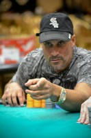 Jesus Cabrera keeping 'em honest in day 2 of the WSOPC Main Event at Harrah's Resort Atlantic City
