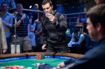 WSOP Event 28 winner Miguel Proulx is set to reveal his winning hand.