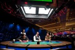 Brandon Adams and Men Nguyen play heads up in the Event 10 Seven Card Stud Championship.