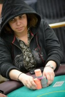 Patty Barsanti-Chou in event #2 at Harrah's Resort Atlantic City