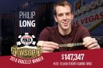 Philip Long winner