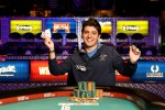 Event 44 winner Rocco Palumbo captures Italy's first WSOP gold bracelet of 2012.