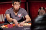 End of day 3 chip leader, Ronald Lee.