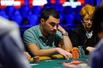 Sadan Turker stares down the final table.