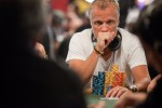 Theo Jorgensen, a WSOP gold bracelet winner finishes as the end of Day Six chip leader.