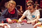 Victor Blom and Darren Woods sit one, two at the End of Day 2 of WSOPE Main Event.