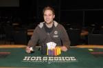 Event 6 winner, Scott Mandel 2009-2010 WSOP Circuit at Horseshoe Hammond