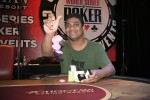 Event 8 Champion, Raja Kattamuri;