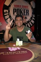 Event 8 Champion, Raja Kattamuri.