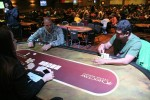 Raja Kattamuri and Dustin Schoonover Heads Up.