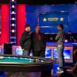 Nick Petrangelo & Elio Fox talk with tournament director Shawn Lytle