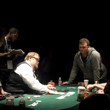 Fial Table action Calen McNeil and Tony Ma