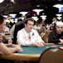 Alexandre Gomes, Joe Cada and Justin Bonomo all at a table