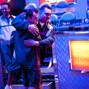 Nick Jivkov gets congratulatory hugs after winning his bracelet