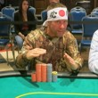 Mark Bonsack at the WSOP Circuit Horseshoe Council Bluffs final table.