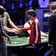 Chun Lei Zhou is eliminated in 5th place