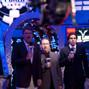 TV Personalities Lon McEachern, Norman Chad, Olivier Busquet