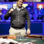 Mikhail Lakhitov realizes that he has won the tournament.