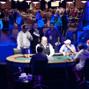 Steven Merrifield, Jason Mercier, Joseph Ressler, David Chiu welcome Hans Winzeler back to the table