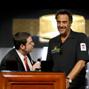 WSOP Tournament Director Jack Effel introduces comedian Brad Garrett