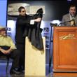 Jack Effel reveals a bust of ten-time WSOP bracelet winner Doyle Brunson