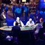 Steven Merrifield, Jason Mercier, Joseph Ressler, and David Chiu begin play while Hans Winzeler is still on break.
