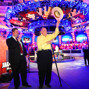 Jack Effel and Doyle Brunson welcome Main event players