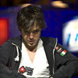 Dario Minieri, Pushes all in and is eliminated