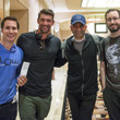 Jeff Gross, Michael Phelps, Antonio Esfandiari, Brian Rast