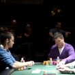 Kristopher Tong and Mike Gorodinsky at the final table.