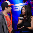 Aaron Kaiser speaks with Kara Scott after his elimination