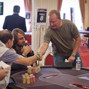 Steve Dannenmann bust out in 12th place.
