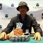 Arkadiy Tsinis won Event #6 at Foxwoods. Photo courtesy of WSOP.com.