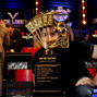 Brian Rast poses with The Chip Reese Memorial Trophy after winning event 55, The Players Championship.