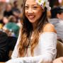 PokerNews reporter Kristy Arnett