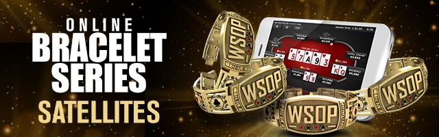 WSOP Online Bracelet Sats