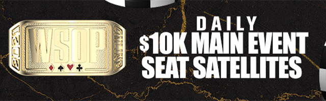 Daily $10k Main Event Seat Sat