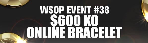 WSOP Event #38 Online Bracelet