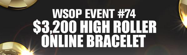 WSOP Event #74 Online Bracelet