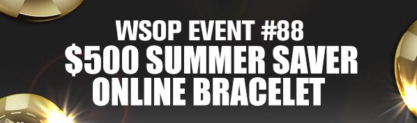 WSOP Event #88 Online Bracelet