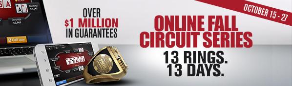 WSOP.com Fall Online Circuit