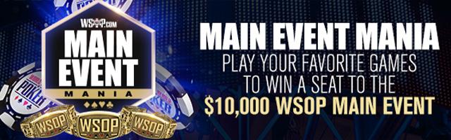 WSOP Main Event Mania