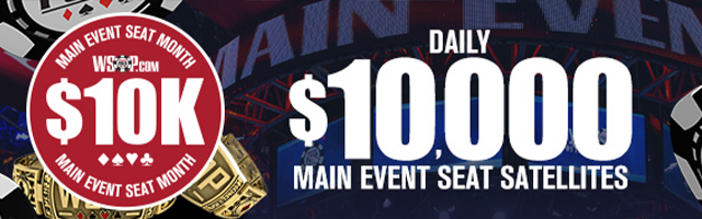 Main Event Seat Sattty Month
