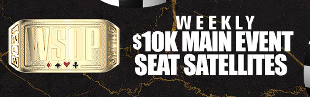 Weekly $10k Main Event Seat...